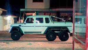 Franklin Waterval Mercedes