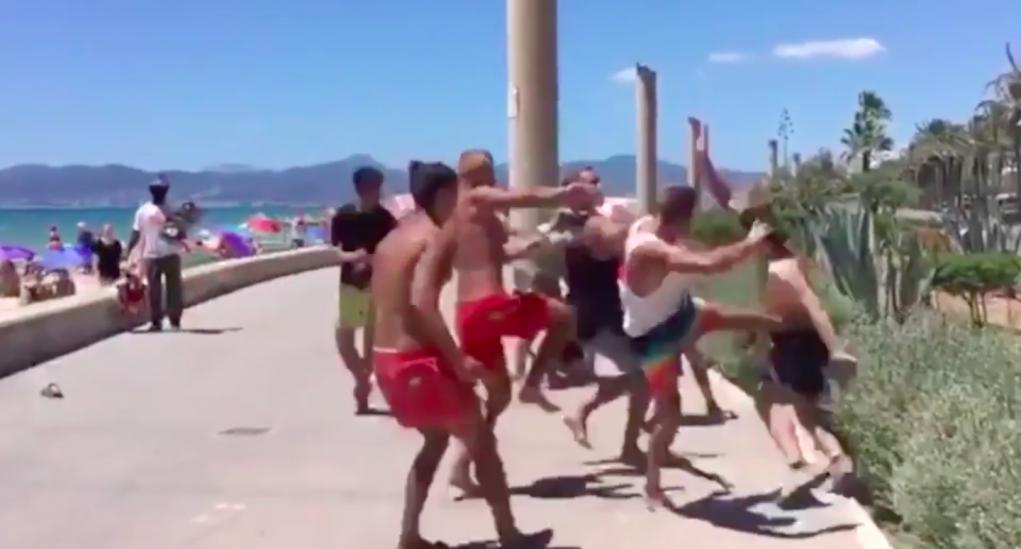 Weer vechtpartij Duitsers in Mallorca (VIDEO en FOTO'S) [Panorama] | Alles  over Misdaad