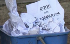 Pamfletten met onheilspellende teksten verspreid in Antwerpen [Panorama]